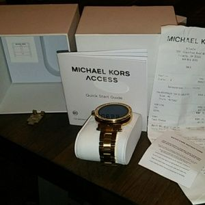 100% Authentic Micheal Kors Sofie Watch